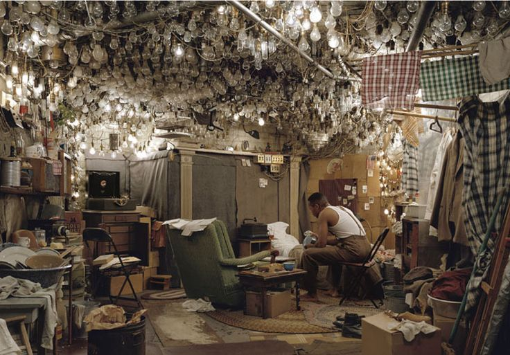 "JASS LIFE: JEFF WALL – After ""Invisible Man"" by Ralph Ellison, The Prologue - 1999/2000"