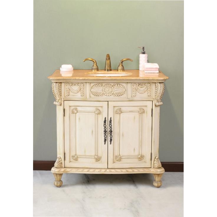 Powder bathroom vanities powder room vanity modern for Powder room sink vanity