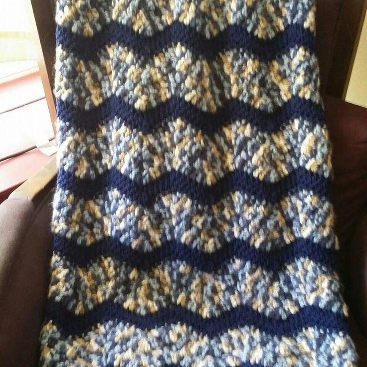 Amazing Häkeln Spirale Afghan Muster Ornament - Decke Stricken ...
