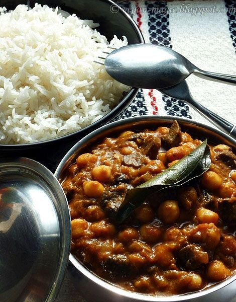 Chickpea and Mushroom Curry