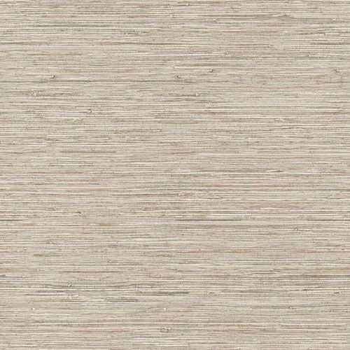 Nautical Living Beige And Taupe Horizontal Grass Cloth Wallpaper York Wallcoverings Wallpa