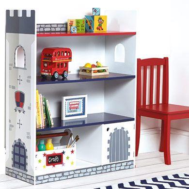 Castle Bookcase - All Storage - Storage - gltc.co.uk