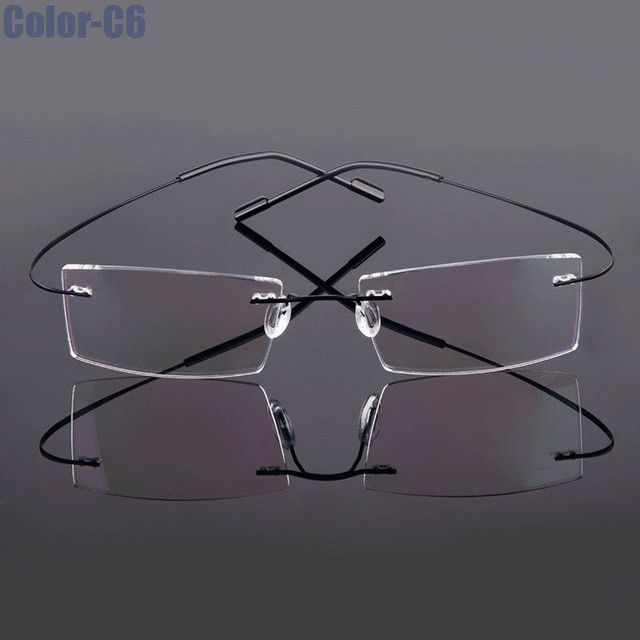 Best Eyeglass Frame Color : 25+ best ideas about Rimless glasses on Pinterest Cat ...