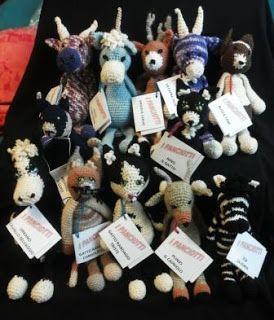 I PANCIOTTI - foto di gruppo - amigurumi animali