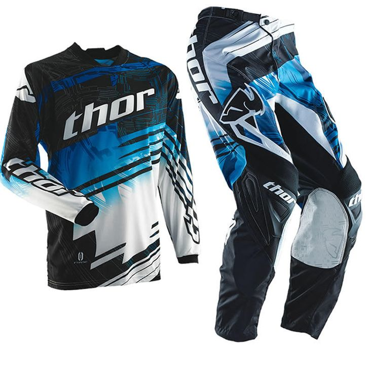 Thor Phase S14 Swipe Blue Motocross Kit  Description: The Thor Phase 2014 Swipe Blue Motocross Kit is packed       with features..              JERSEY SPECIFICATION                      Shaped knit cuffs and collar – For less restriction                    Moisture wicking micro-mesh construction – So you can focus at      ...  http://bikesdirect.org.uk/thor-phase-s14-swipe-blue-motocross-kit-11/