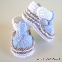 """Chaussons,sandales bébé,laine,fait main,0/3 mois """"reservé""""                                                                                                                                                                                 Plus"""