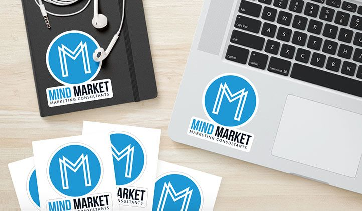 Create custom stickers at stickeryou upload your logo order in any size any