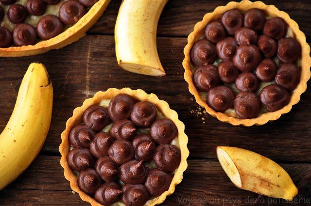 Voyage au pays de la patisserie: Banánové tarteletky