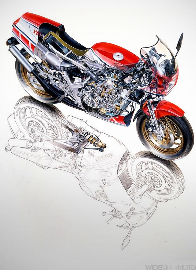 Artwork of Makoto Ouchi - Cutaway Master