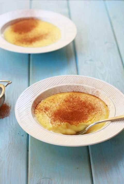 ΥΛΙΚΑ: 600 ml φρέσκο γάλα 6 κουταλιές λευκή ζάχαρη 1 βανίλια ολόκληρη (ή δύο φακελάκια σκόνη) 4 κουταλιές corn flour ΕΚΤΕΛΕΣΗ: Διαλύουμε τη ζάχαρη με το ένα ποτήρι χλιαρό γάλα. Σε μια μικρή κατσαρόλα ρίχνουμε το υπόλοιπο γάλα, τη βανίλια και το κορν φλάουρ και ανακατεύουμε σε μέτρια φωτιά. Μόλις αρχίσει να ζεσταίνεται, ρίχνουμε το μίγμα της ζάχαρης και του γάλακτος και συνεχίζουμε να ανακατεύουμε Κατεβάζουμε από τη φωτιά όταν αρχίσει να πήζει.Σερβίρουμε σε μπολάκια με κανελα.