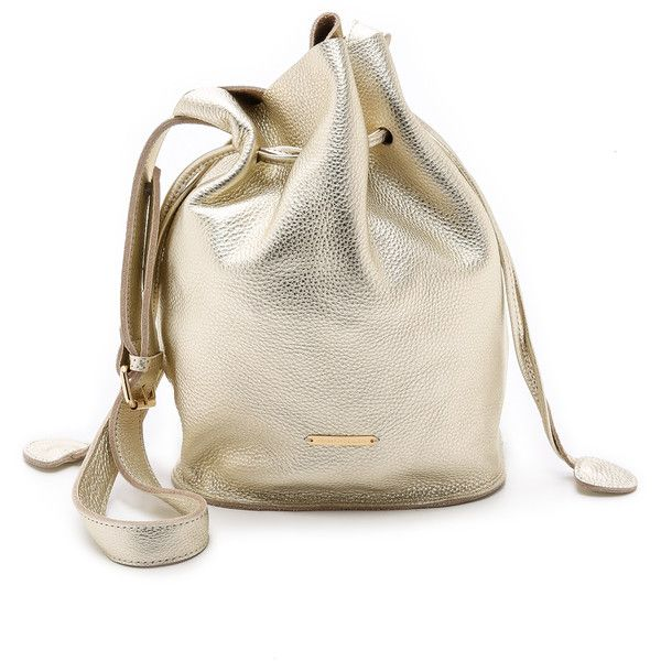 Monserat De Lucca Castillero Drawstring Shoulder Bag - Gold