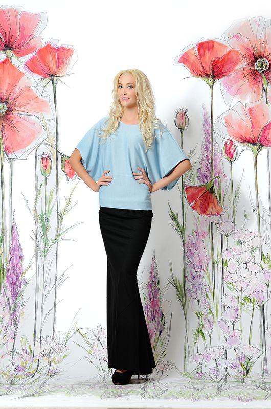 Черная юбка из вечерней коллекции. Роскошный наряд для любых торжественных моментов вашей жизни. Создаст шикарный образ! #юбка #вечерняямода #юбкадлинная #купитьюбку #российскиедизайнеры #весна #стильнаяюбка #юбкамакси