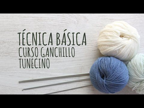 Free Tunisian Crochet Lessons   Lanas y Ovillos