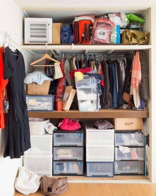 07bf73ec64 押入れ 劇的Before→After!「捨てられない女」から脱出する方法【2019】   収納 diy    Closet、Room、Organization