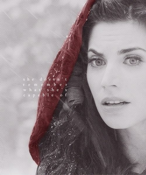 red riding hood-once upon a time series