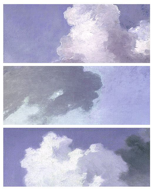 Clouds by Jean-Honoré Fragonard