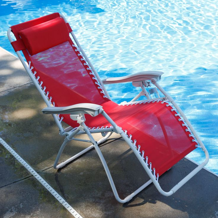 Have to have it. Zero Gravity Lounge Chair - Poblano Red $49.00Chai Lounges, Lounges Chairs, Gravity Lounges, Zero Gravity, Chaise Lounges, Poblano Red, Lounge Chairs, Red 49 00, Folding Chairs