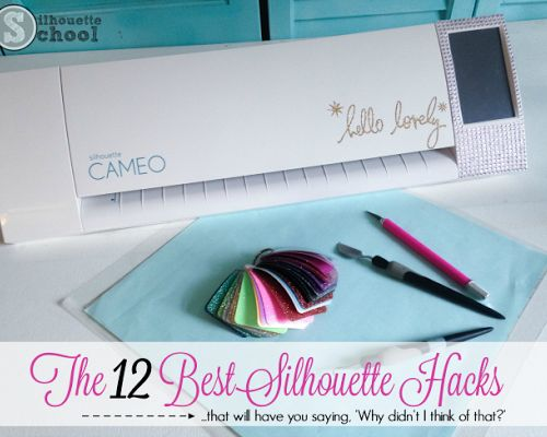 Silhouette CAMEO tutorials, project ideas and Silhouette books for dummies! Learn how to use the Silhouette cutting machine plus Silhouette reviews!