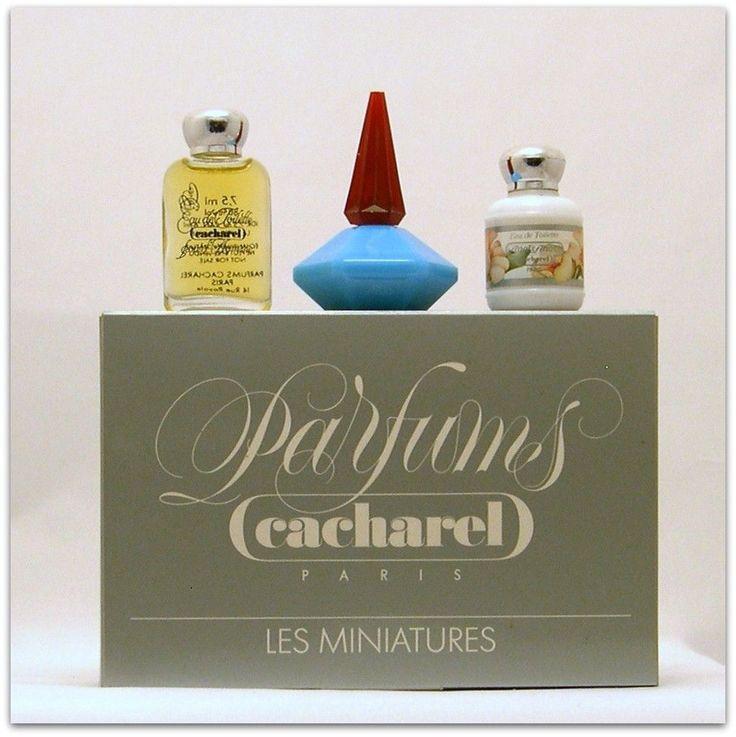 Cacharel Collection 3 Mini Perfumes Anaïs Anaïs Lou Lou Cacharel Pour Homme | eBay