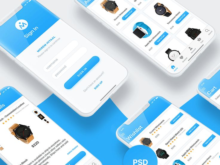 Ecommerce iOS UI Design
