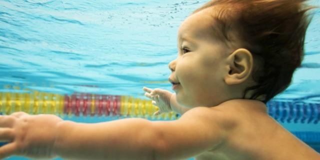Bébé nageur #oxylane #bordeaux #sport #baby #natation