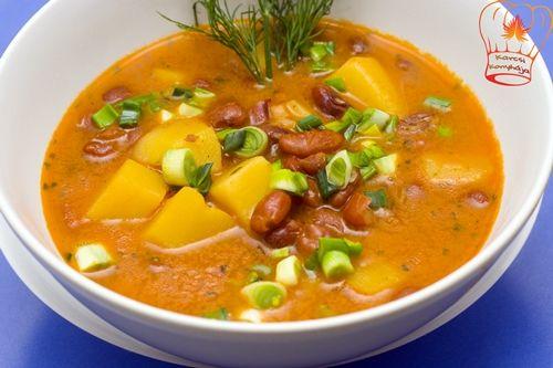 Szegény ember paszuly levese - Karcsi konyhája