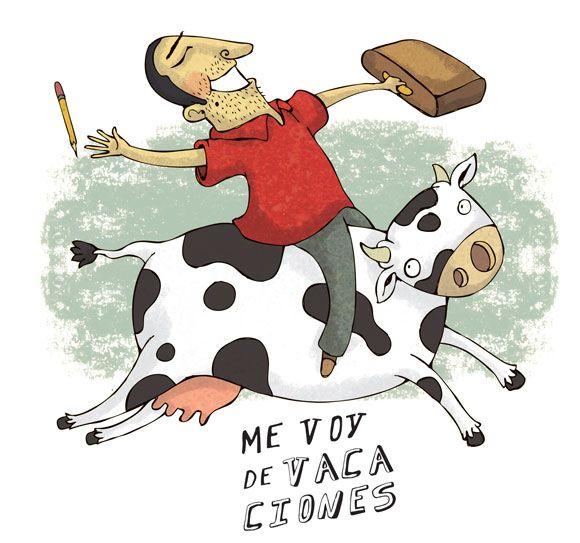 Joke in Spanish for kids: Me voy de VACAciones #learning #spanish #kids