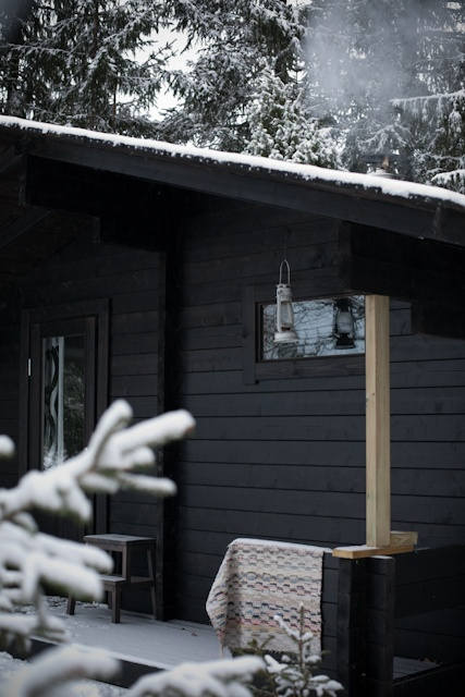 Vihreä talo/sauna