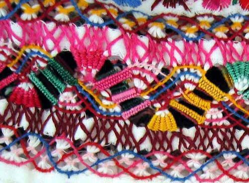 deshilado & bordado - embroidery