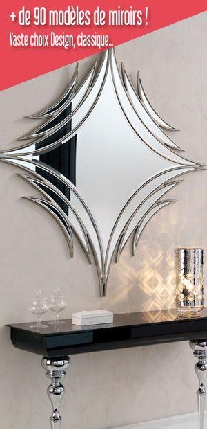 26 les meilleures images concernant miroirs de d coration murale sur pinterest design d co et. Black Bedroom Furniture Sets. Home Design Ideas