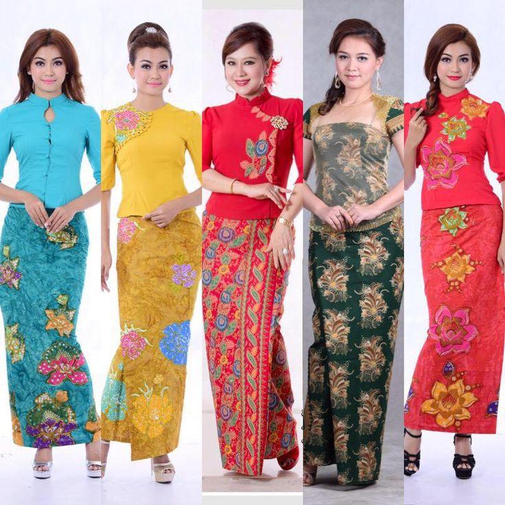 Fashion, Burmese, Textiles