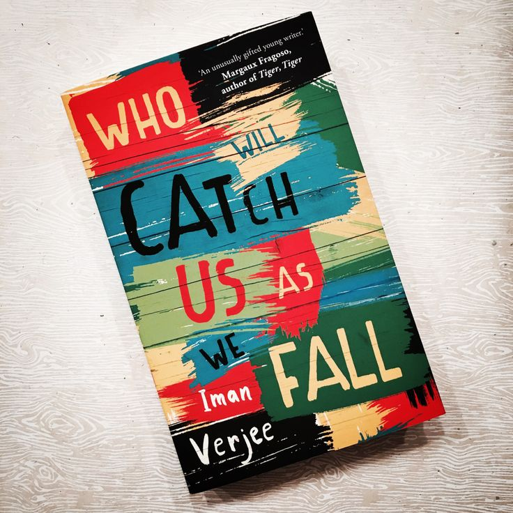 We love the cover of Who Will Catch Us As We Fall by Canadian author Iman Verjee! It was designed for Oneworld by their art director James Paul Jones.