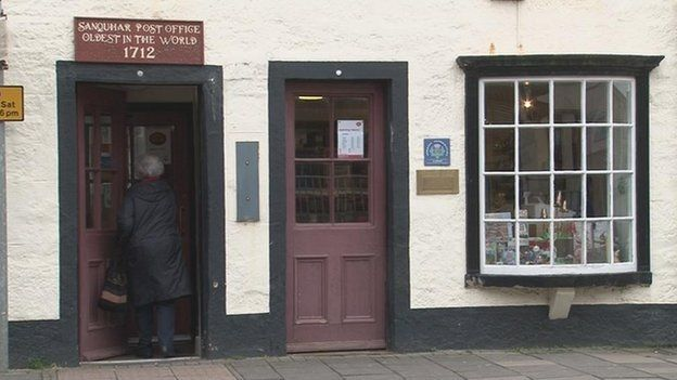 Sanquhar Post Office in Scotland - the oldest post office in the world - celebrates 300 years: Mail, Work Posts, Celebrity 300, Postal, Oldest Work, Offices Celebrity, Places Spaces, Posts Offices, Oldest Posts