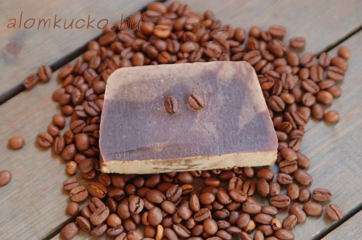 coffe soap with goat milk