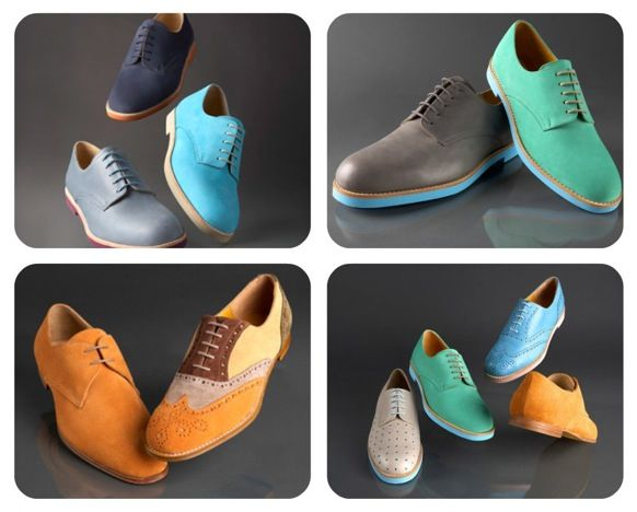 Colorful Collection of Shoes to Add to You're Groom's Wedding Attire