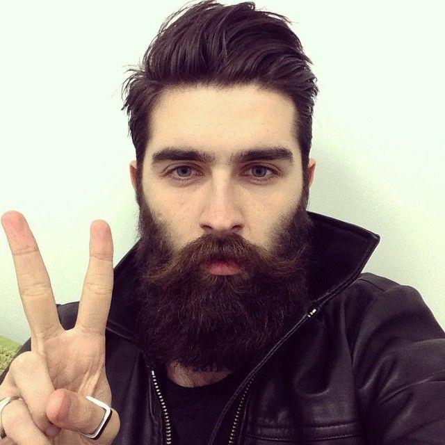 Chris John Millington - huge full thick dark beard and
