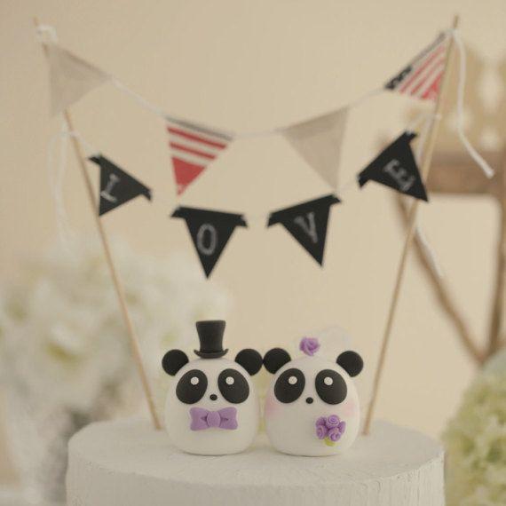 Pastel de cumpleaños de Panda