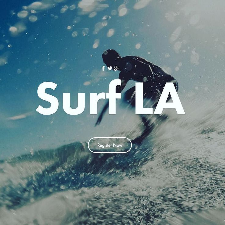 Hero shot for Surf LA  - By Leandro Crespi - http://ift.tt/1ghbs6y