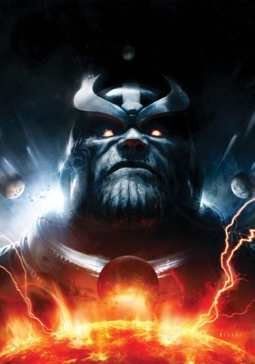 Thanos by Aleksi Briclot