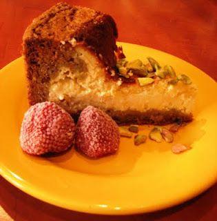 Sladký Sen: Pistáciový cheesecake