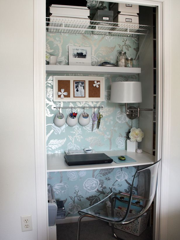 closet office space. clever uses for everyday items in the home office closet space f