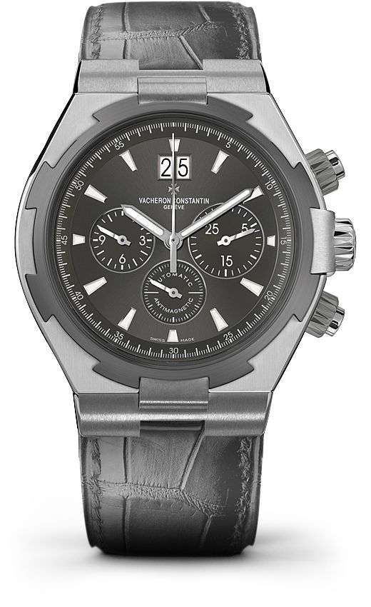 OVERSEAS CHRONOGRAPH Reference: 49150/000W-9501 Shape: Round Diameter (mm):   42.00 Thickness (mm): 12.45 Material of the case: FINCOLL Water-resistance (bar):  15 Informations Watch strap material: Rubber Watch strap color: black Type of buckle: Deployant buckle Buckle material: stainless steel Specificity:   Screwed-down pushpiece Anti-magnetic protection to 25,000 A/m