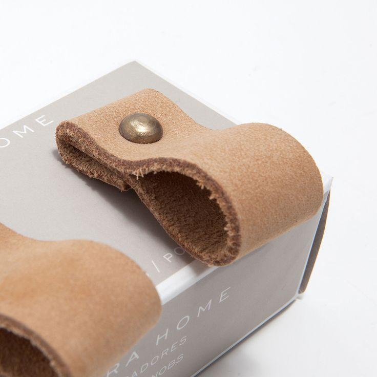 BOUTON MEUBLE CUIR (LOT DE 2) - Boutons Meuble - Décoration | Zara Home France