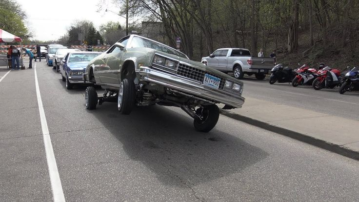 Lowriders, Donks, Box Chevys at Cinco De Mayo Car Show in