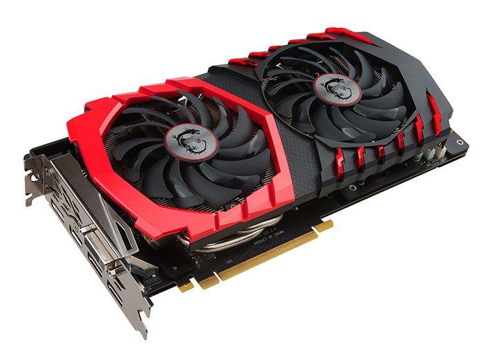 Nouvelles cartes graphiques MSI Geforce GTX 1060 3G - La carte graphique GeForce…