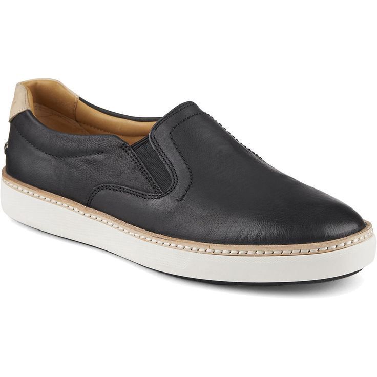 SPERRY WOMEN'S GOLD CUP REY SNEAKER - BLACK. #sperry #shoes #all