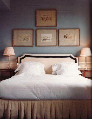 Simple Headboard, Simple Bedding