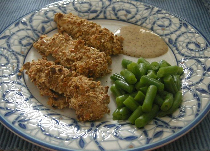 Pretzel Crusted Honey Mustard Chicken Tenders*