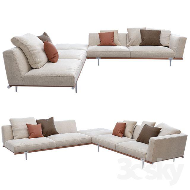 Let It Be Sofa Poltrona Frau Sofa, My furniture, Furniture