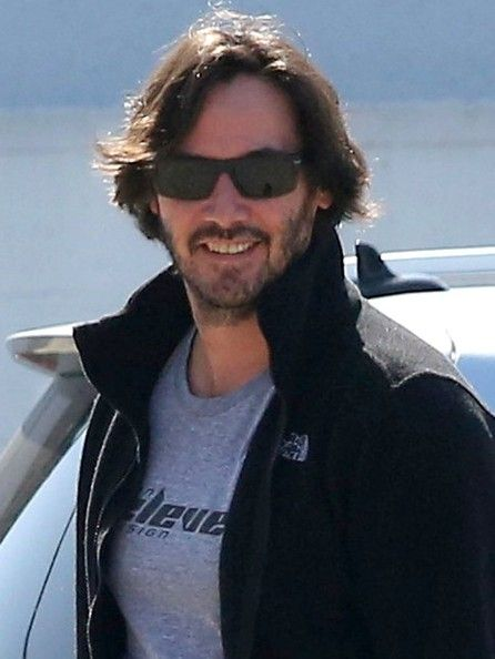 Looking scruffy and bit heavier than usual, '47 Ronin' actor Keanu Reeves works on his fitness at a gym in Hollywood on July 26, 2013.